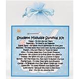 Student Midwife Survival Kit - Fun Novelty Gift & Card Alternative/Birthday/ Keepsake /Thank You Gift