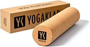 Yogibato Rouleau de Massage des fascias en li/ège Automassage des fascias Contre Les tensions Rouleau de Massage pour Yoga Pilates Gymnastique /& Fitness Rouleau de li/ège en li/ège 100/% Naturel