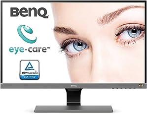 BenQ EW277HDR 68,58 cm (27 Zoll) Eye-Care LED Monitor (1920 x 1080 Pixel, Full HD, REC. 709, DCI-P3, HDR Mode, AMVA+ Panel) grau