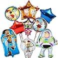 Miotlsy Toy Story Decoración de fiesta de cumpleaños Niños Decoración de cumpleaños con globos de Toy Story para decoración d