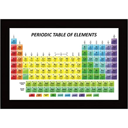 Posterskart periodic table of elements educational poster amazon posterskart periodic table of elements educational poster amazon home kitchen urtaz Gallery