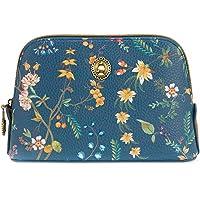 PiP Studio Cosmetic Bag Triangle Small Petites Fleurs Dark Blue 19/15x12x6cm