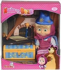 "Simba 109302024 ""Masha and The Bear - Masha Magic Tricks"" Doll Playset"