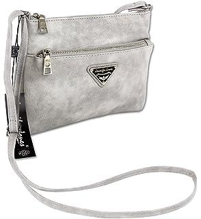 333cb8868e133 Jennifer Jones Taschen Damen Damentasche Handtasche Schultertasche  Umhängetasche Tasche klein Crossbody Bag in versch. Farben