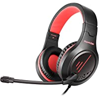 Cosmic Byte Blazar Headphone with Flexible Mic for PC, Mobiles, PS4, Xbox One, Tablets (Red)