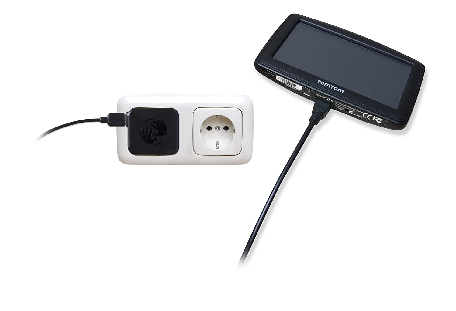 TomTom Chargeur secteur universel