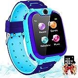 Smartwatch per Bambini con 7 Giochi - Musica MP3 Orologio Intelligente Bambini con Telefono Camera Recorder Sveglia (Include