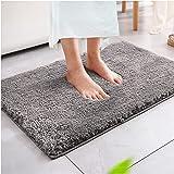 Magicfun Alfombra de baño, Alfombra Absorbente Antideslizante, Alfombra de baño de Microfibra esponjosa, alfombras de Ducha d