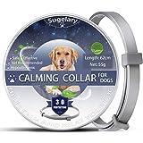 Sugelary Collare calmante per Cani, collari per Cani Anti-ansia Regolabili, Collare per Cani calmante Naturale Sicuro, Collar