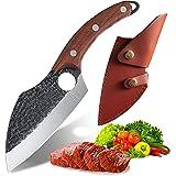 Akatomo couteau de chef chinois couteau couperet couteau de cuisine fait à la main couteau de boucher couteau à désosser cout
