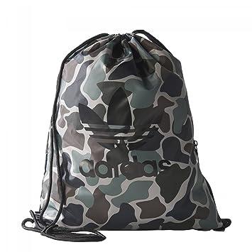 Adidas Unisex Gymsack Camo Gym Bag Multi Colour Multco
