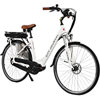"""AsVIVA E-Bike Damen Hollandrad 28"""", Tiefeinsteiger (13Ah Akku), 7 Gang Shimano Schaltung, Mittelmotor, Scheibenbremsen…"""