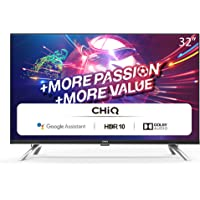 CHiQ L32H7A, 32 Zoll (80 cm), Android 9.0, Smart TV, HD, WiFi, Bluetooth, Google Assistant, Netflix, Prime Video, HDMI…