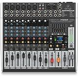 Behringer Xenyx X1222Usb 16-Kanal 2/2 Bus Mischpult Mit Xenyx Mic Preamps, 1-Knob Kompressoren, 24-Bit Multi-Fx Und Usb Audio