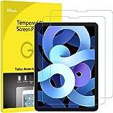 JETech Skärmskydd Kompatibelt med iPad Air 4 10,9 Tums, iPad Pro 11 Tums Alla modeller, Face ID Kompatibelt, Härdat Glas Film