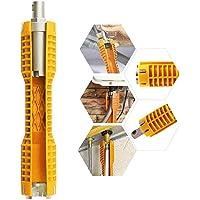 Multifunzionale Rubinetto Lavello e chiave strumento di installazione,a doppia testa Change Tool per Ciotola/Lavello…