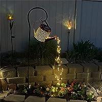 Solar Watering Can Light, Firefly Bunch Lights Waterproof Waterfall String Lights, Outdoor Garden Fairy Light Decor for…