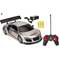Toyify Remote Control car for Boys & Girls with Rechargeable 3 Batteries ( Only for Car ) & Charger (Look Like Audi R8)