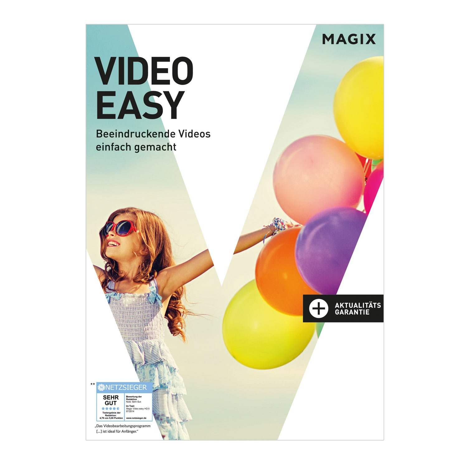 MAGIX Video easy 6 HD [Download] (Film Bearbeitung)