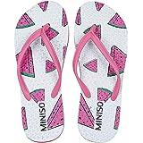 MINISO Fashion Women's Flip-Flops(Watermelon,UK5)