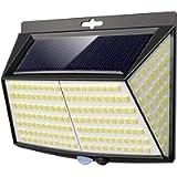 Luce Solare LED Esterno, Vighep 228 LED Luci Solari Lampade Faretti Solari a LED da Esterno Sensore di Movimento IP65…