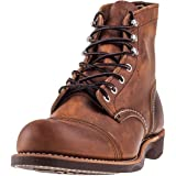 Red Wing Mens Iron Ranger 8085 Copper Leather Boots 44 EU