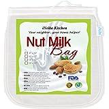 iNeibo Borsa per Latte di Noci , Sacchetto Latte Vegetale , Nylon Filtro Alimenti (25cmx30cm)
