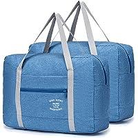 YOODI 2 Paquet Sac de Voyage Bagage Portable Valise Grande Taille Pas Cher Sac de Transport Léger pour Femmes et Hommes…