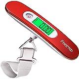 FREETOO Pese Bagage Electronique Balance Portable Pese Bagages Numérique Max 50Kg/110Lb (LB,g,Oz,kg) Balance électronique/Fon