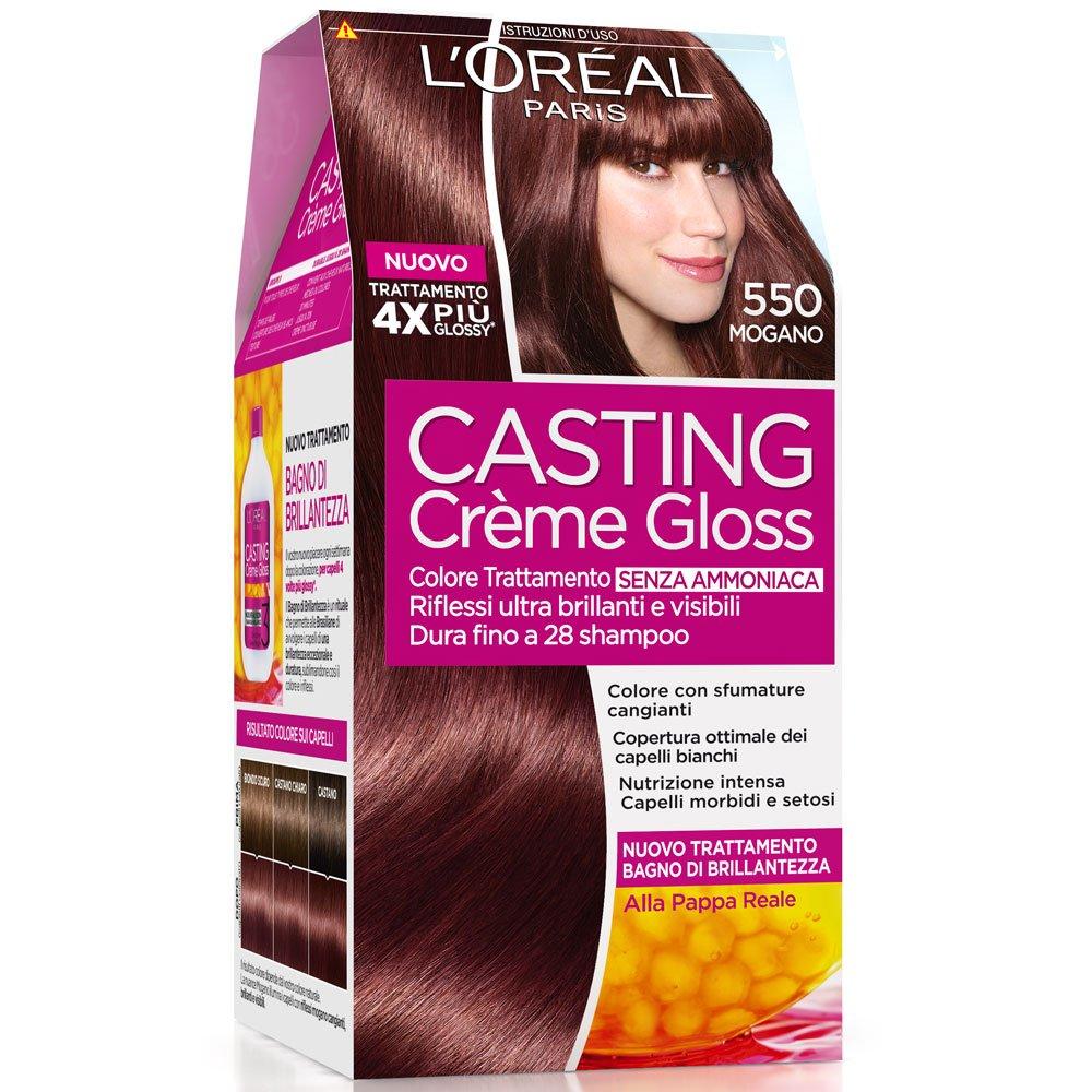 loral paris casting crme gloss colore trattamento senza ammoniaca 415 marron glac amazonit bellezza