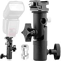 SHOPEE Branded E Type Camera Flash Speedlite Mount Swivel Light Stand Bracket with Umbrella Reflector Holder Compatible…