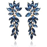 YouBella Jewellery Gold Plated Crystal Earrings for Girls and Women