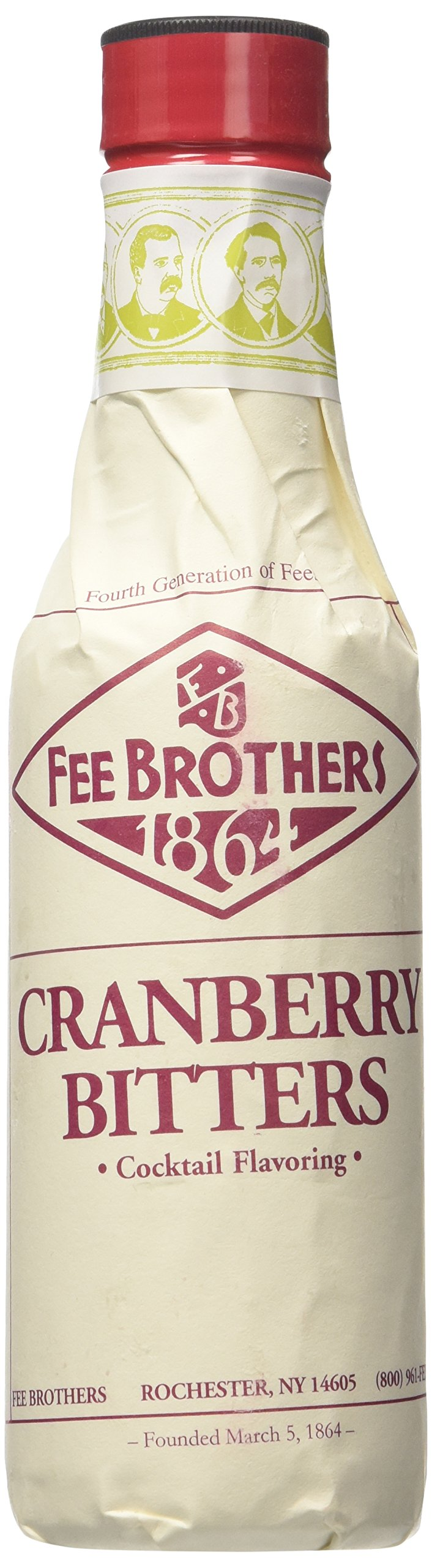 FEE BROTHERS 1864 BITTERS CRANBERRY Bitter aromatizzante CL.10