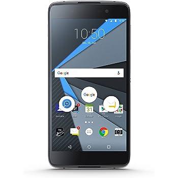 BlackBerry DTEK50Smartphone, da 5,2pollici con display touch, 16GB di memoria interna, sistema operativo Android 6.0, lo smartphone più sicuro al mondo, colore: nero