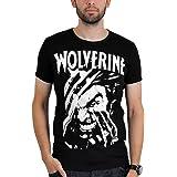 Logoshirt–Marvel Wolverine–Camiseta, Black