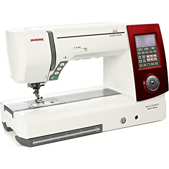 JANOME Horizon Memory Craft 8900 QCP SE - NEUES Design ROT