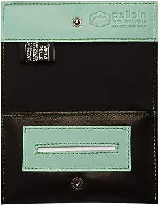 Pellein - Portatabacco in vera pelle Asher - Astuccio porta tabacco, porta filtri, porta cartine e porta accendino. Handmade in Italy