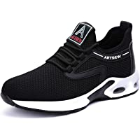 Work Trainers Steel Top Cap Shoes for Men Breathable Safety Trainers Women Lightweight Safety Shoes for Unisex