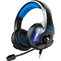 YINSAN Gaming Headset, Xbox One Headset, PS4 Headset Surround Stereo Gaming Headphones…