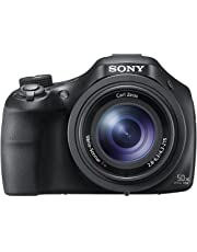 Sony Cybershot DSC-HX400V 20.4MP Digital Camera (Black) with Free Bag