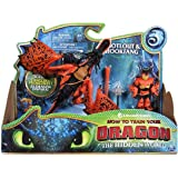 Dragon Monstrous e Snotlt | DreamWorks Dragons | Action Game Set | Hookfang