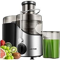 Centrifugeuse Fruits et Legumes, Aicook Extracteur de Jus, 65MM Large Bouche Centrifugeuse en Acier Inoxydable, Sans BPA…