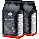 Happy Belly Select - Café en Grains de Colombie - 1Kg (2 Paquets x 500g)