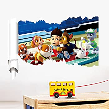 walltastic wandbild paw patrol pappe bunt 52. Black Bedroom Furniture Sets. Home Design Ideas