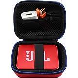 Portable Dur Voyage Cas Sac étui pour JBL GO/JBL GO 2 Enceinte Portable Bluetooth par GUBEE (Rouge)