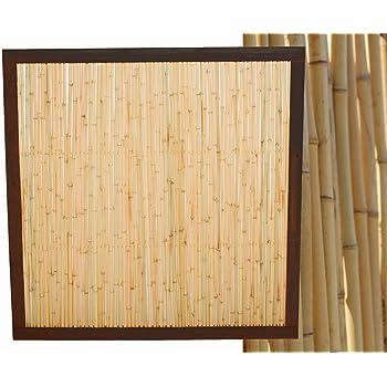 Amazon De Bambuszaun Koh Samui Mit 120 X 120cm Bambuswand
