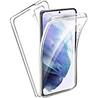 Ingen Cover per Samsung Galaxy S21+ / S21 Plus, Custodia Trasparente Doppia Integrata, 360 Gradi Full Body Protezione…