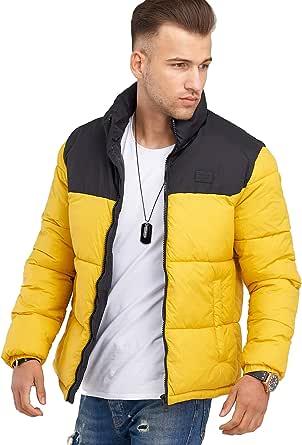 JACK & JONES Jcoinfinity Men's Winter Jacket Quilted Jacket Streetwear
