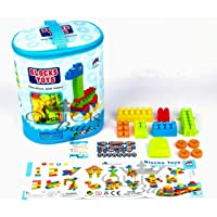 Quick Buy Bag Packing Building Blocks with Wheels For Kids, Unbreakable Toys, Block Game And Education Toys…