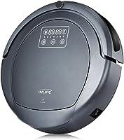 INLIFE Robot Aspirador Robot Programable con Bloqueador Virtual Sensor de Obstáculo y Anticaída 4 Modos de limpienza...